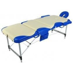 Массажный стол складной алюминиевый с волной JFAL01A (МСТ-102Л)