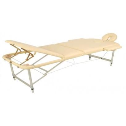 Массажный стол складной алюминиевый JFAL03 (3-х секционный)