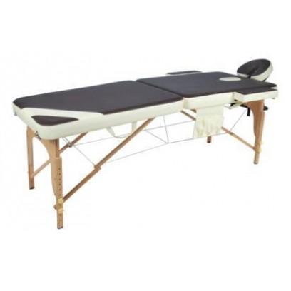 Массажный стол складной деревянный JF-AY01 2-х секционный М/К